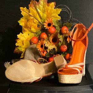 "New, Shoedazzle ""Akara"" platform heels."
